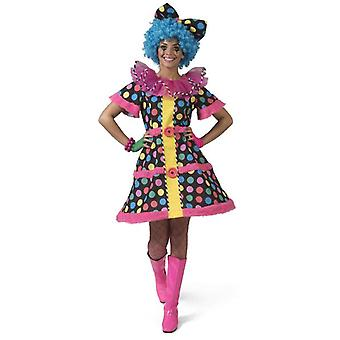 Women's Clown Clownita Costume Ladies Manege Carnival Theme Party Women's Costume