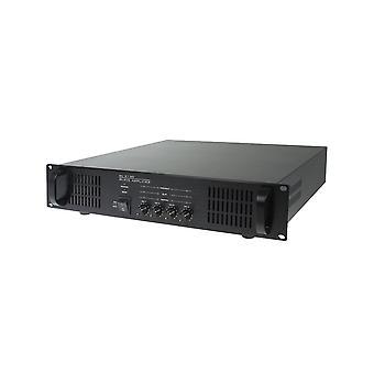 Clever akustik Sl4120 100V 4 X 120W slave forstærker
