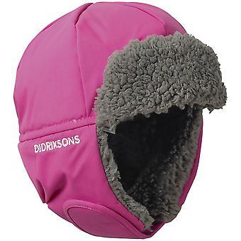 Didriksons Biggles 3 Kids Winter Hat | Plastic Pink