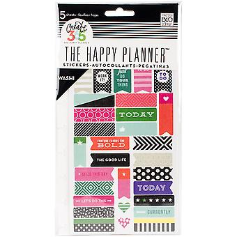 Happy Planner Stickers 5/Sheets -Bold - Washi