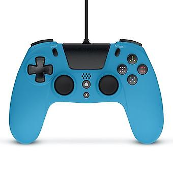 Gioteck VX4 Wired Blue Controller (PS4 e PC)