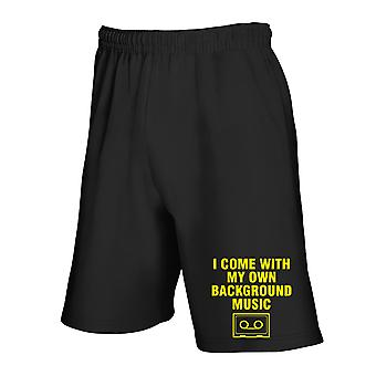 Black tracksuit shorts fun2845 i come with my own background music