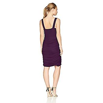 Star Vixen Women's Petite Rouched Sweetheart Neckline Stretch Ity Bodycon Dre...