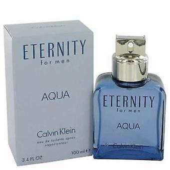 Eternity Aqua By Calvin Klein Body Spray 5 Oz (men) V728-548279