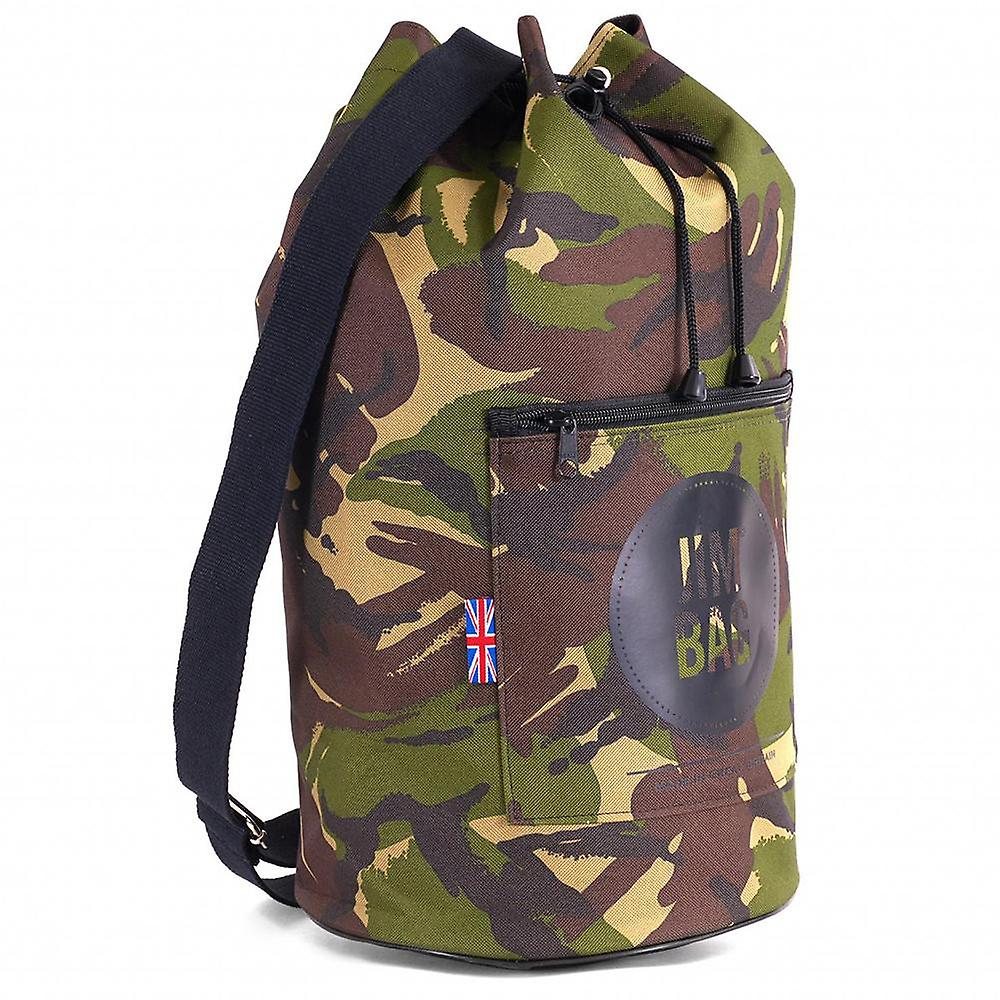JIMBAG Camouflage Travel Fitness Gym Drawstring Duffle Outdoor Bag