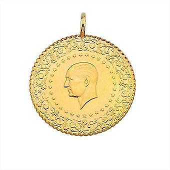 Moeda de ouro turca de Çeyrek
