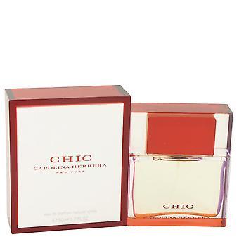 Chic eau de parfum spray par carolina herrera 418318 50 ml