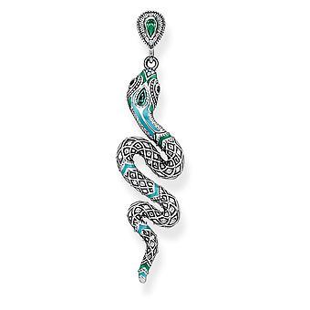 Thomas Sabo Sterling Silver Thomas Sabo Tropical Snake Earring H1994-845-17