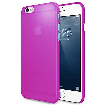 AirSkin ultra-mince translucide Purple Frosted Shell iPhone 6S 6