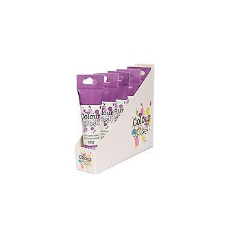 Farve splash gel-violet-25g X 5