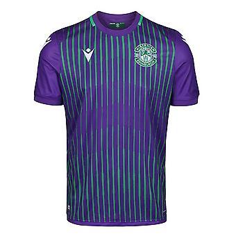 2019-2020 Hibernian Macron Away Football Shirt