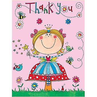 Rachel Ellen Girls Thank you Cards