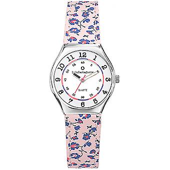 Watch LuluCastagnette MiniStar 38827 - floral leather