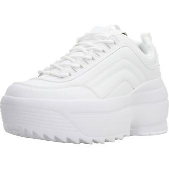 Emmshu Sport / Bolt Kleur Witte Sneakers