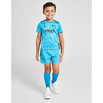 New Umbro Boys' Derby County FC 2019/20 Away Kit Children Blue