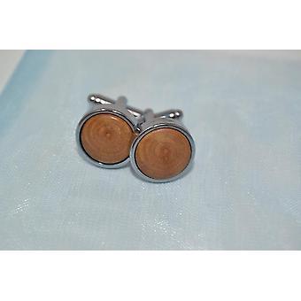 Cuffchets cufflinks wild cherry cuff left handmade shirt wedding accessory chrome plated
