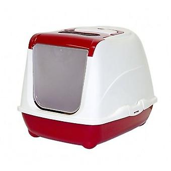 Moderna Gatera Flip Red Cat (Cats , Grooming & Wellbeing , Covered Litter Trays)
