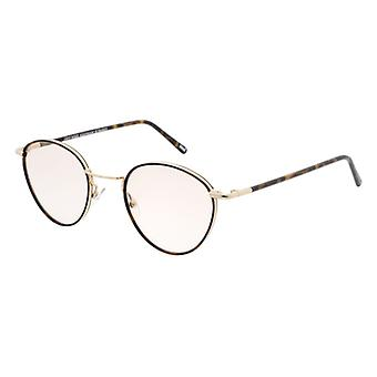 Andy Wolf 4723 B Gold-Havana Glasses