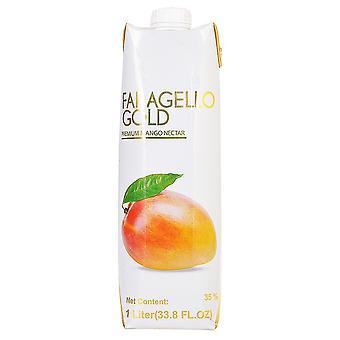 Faragello Gold Premium Mango Juice -( 1 Lt X 12 Bouteilles )