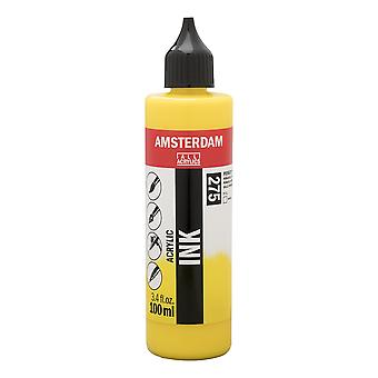 Amsterdam Acrylic Ink 100ml (275 Primary Yellow)
