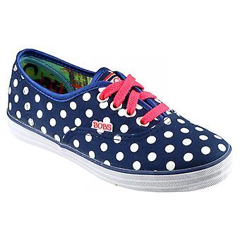 Skechers SK85494 холст пятнистых девочек обувь