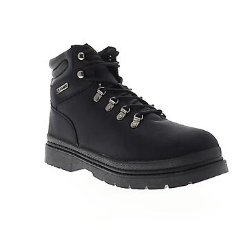 Lugz Grotto Ballistic  Mens Black High Top Lace Up Casual Dress Boots