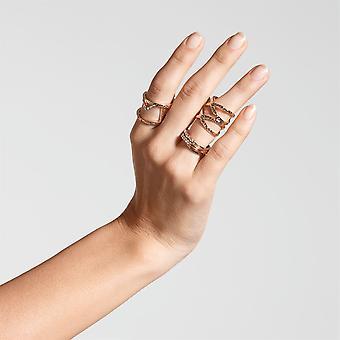 Golddigga Womens Multi Rings