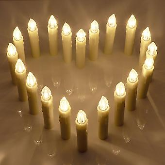Led Light Candles With Remote Control 20 Beautiful Candles For Special Occasions