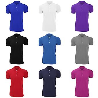 Russell Mens Stretch Short Sleeve Polo Shirt
