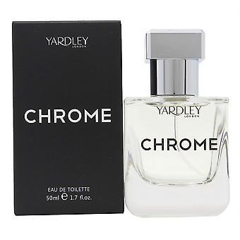 Yardley Chrome Eau de Toilette Spray 100ml
