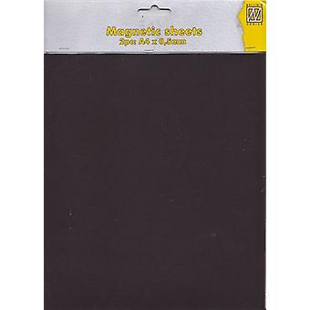 Nellie's Choice magnetic sheet 0,5mm A4 2 pcs MAG004 (03-17)