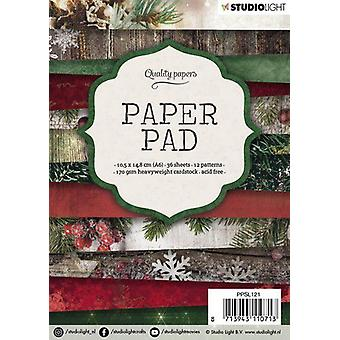 Studio Light Paper Pad A6 36 Sheets 12 Designs Number 121