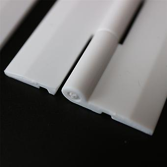 3 x 300mm WHITE, Continous Acrylique Piano Hinges