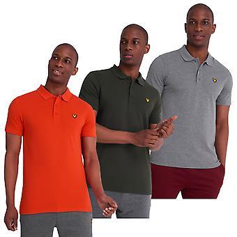 Lyle & Scott Mens Sport Vochtwicking Polo Shirt met korte mouwen