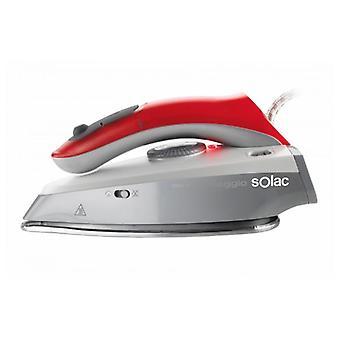 Steam Iron Solac PV1651 Viaggio 45 g/min 1000W Red Grey