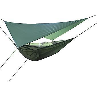 Canopy Mosquito Net Hängmatta Kombinationsset, Hängmatta 270x140cm Baldakin 360x290cm, 3 färger