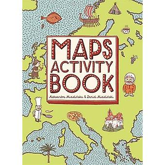 Maps Activity Book by Aleksandra Mizielinska - Daniel Mizielinski - 9
