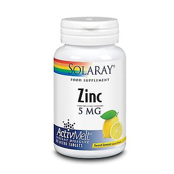 Solaray Zinc AivMelt 5mg Lozenges Lemon 60 (58435)