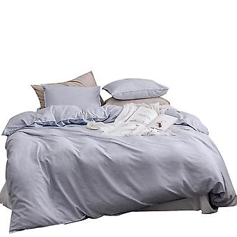 Quilt cover set, bedding with pillowcase,  zipper opening and closing quilt cover, mildew resistant and durable