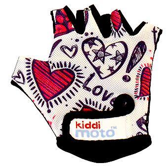 Kiddimoto Cycling Gloves Love