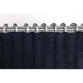 McAlister têxteis Matt preto cortinas de veludo