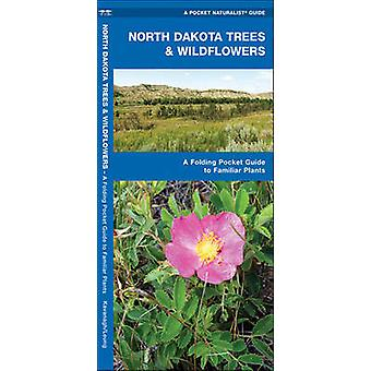 North Dakota Trees & Wildflowers - A Folding Pocket Guide to Familiar