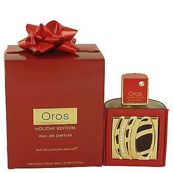 Armaf Oros Holiday Eau De Parfum Spray By Armaf 2.9 oz Eau De Parfum Spray