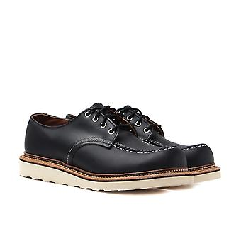 Red Wing 8106 Schwarz Chrome Heritage Work Classic Oxford Schuhe