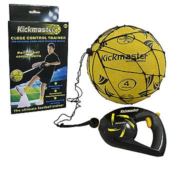 Kickmaster Close Football Control Shoot Pass Trainer Fußball Fähigkeiten Praxis Set