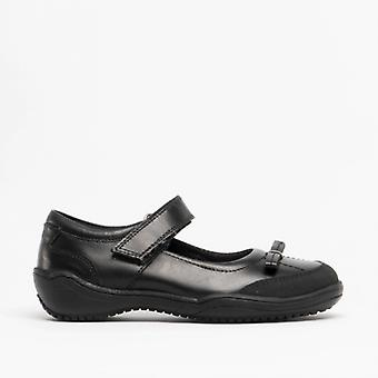 Roamers G699a Elodie Girls Bow Mary Jane Shoes Black