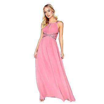 Little Mistress Womens/Ladies Embellished Empire Maxi Dress