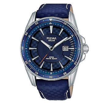 Pulsar PX3205X1 Män's Blue Dial Solar Armbandsur