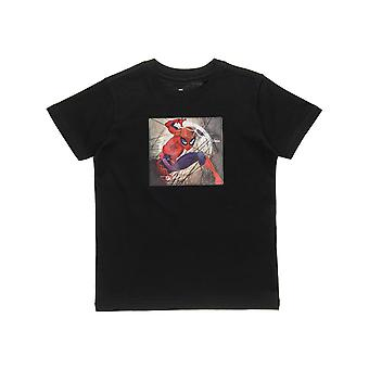 Alouette Boys' Spiderman T-shirt med 3D Print