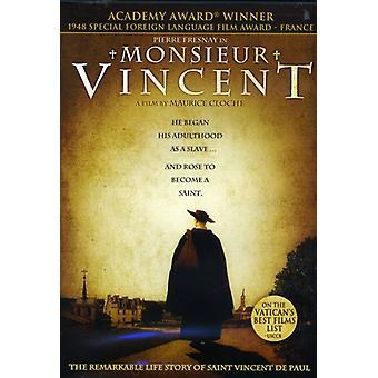 Importación de USA de Monsieur Vincent [DVD]